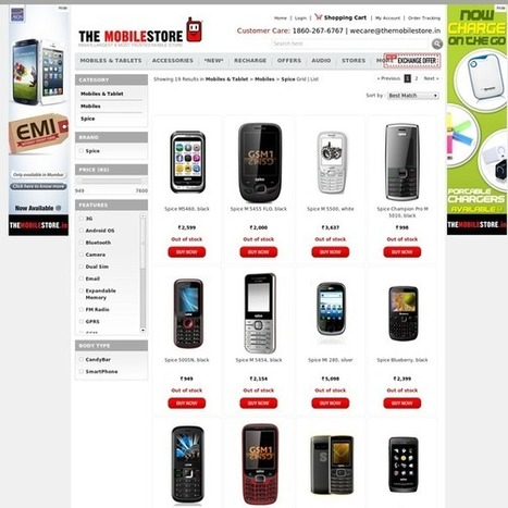 Latest New Spice Mobile Phones Online | Mobile & Tablets | Scoop.it