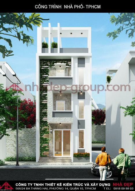 Nhà phố 6x20 | Thiết Kế Ngôi Nhà Đẹp | lều xông hơi | Scoop.it