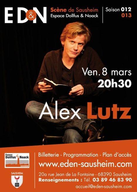 ALEX LUTZ | Humour & Théâtre à l'ED&N | Scoop.it