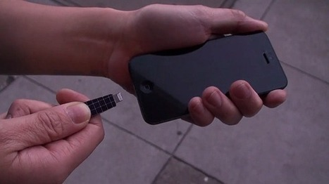 Hacked Ray-Ban Solar Panel Sunglasses Keeps Your Smartphone Alive | Sweet Technology! | Scoop.it