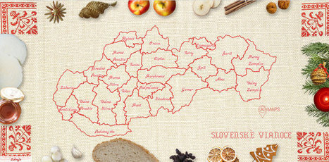 Mapa Slovenských Vianoc   Slovakia.Slowakei.LaSlovaquie.Slowacja.Szlovákia   Scoop.it