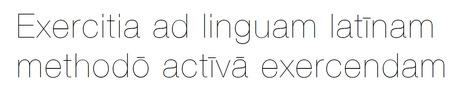 Exercitationes linguae latinae   Latin.resources.useful   Scoop.it