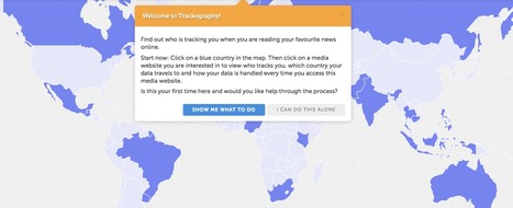 Trackography - which companies track us when we read the news online? | Communicate...and how! | Scoop.it
