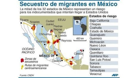 Ruta del migrante centroamericano a EU empeoró tras masacre de Tamaulipas · El Nuevo Diario | Migración de Centro y Sud América | Scoop.it