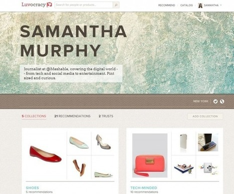 Luvocracy: Pinterest for People Who Actually Want to Buy Stuff | pinterest for research | Scoop.it
