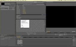 Transcribing Speech in Video With Adobe Premiere and After Effects   RealEyes Media   POst News n Info   Scoop.it
