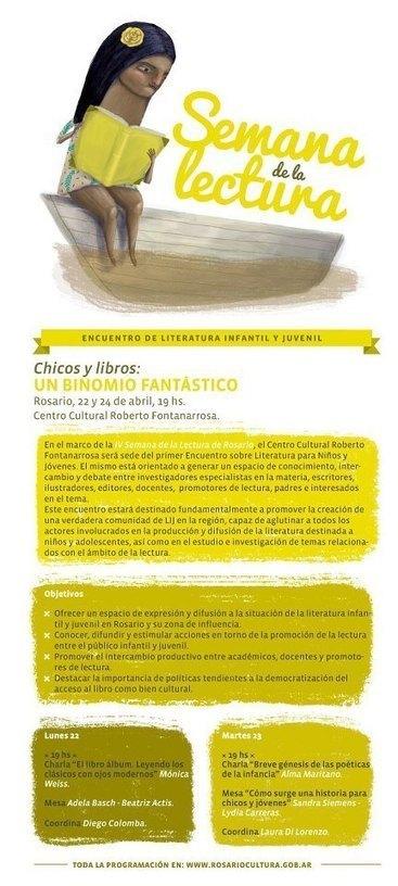 Chicos y libros: un binomio fantástico - En: Rosario | Literatura Infantil | Scoop.it