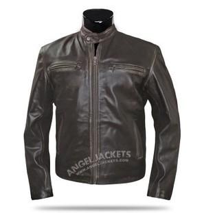 Mark Wahlberg Brown Contraband Leather Jacket | blackfridaydealsa | Scoop.it