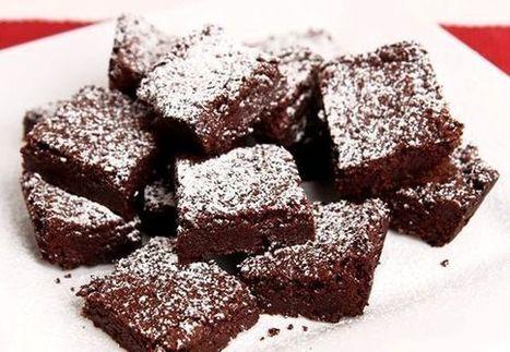 Chewy Brownies   desserts   Scoop.it