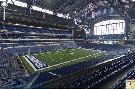 Google Maps goes inside an NFL stadium for first time, takes fans on a virtual tour of the Colts\' home | Sports & Entertainment Marketing | Scoop.it