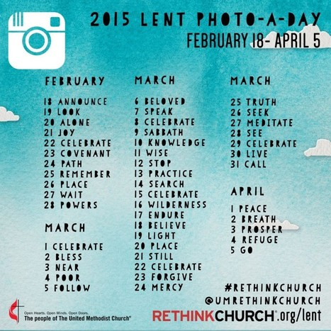 Let's Get Creative - Take A Photo A Day Through Lent | Spiritual transformation | Scoop.it