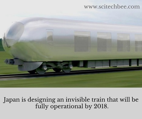 Japan Is Designing An 'Invisible Train' To Hit The Tracks by 2018 | Technology in Business Today | Scoop.it