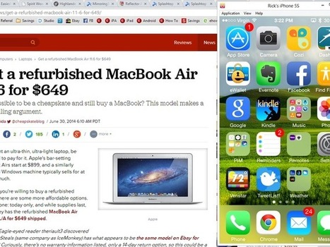 Mirror your iPhone or iPad to your PC - CNET | Edtech PK-12 | Scoop.it