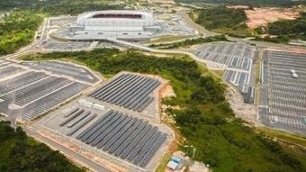 FIFA World Cup Stadium (Brazil) Installs Solar Modules | Sports Sustainability | Scoop.it