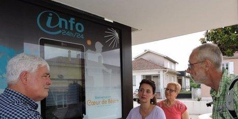 Une borne numérique pour informer les touristes en coeur de Béarn | Actu Réseau MOPA | Scoop.it