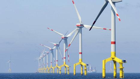 Windstrom-Produktion in Nordsee im Halbjahr mehr als verdoppelt | Amocean MeerWissen | Scoop.it