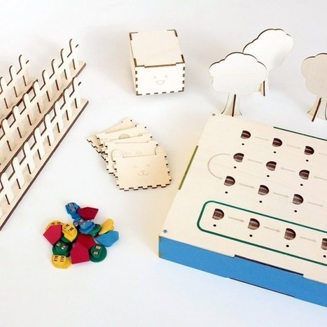 Primo teaches programming to 4-year-olds using wooden blocks (Wired UK) | @FoodMeditations Time | Scoop.it