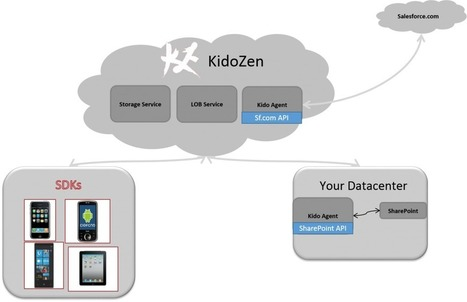 Mobilizing Salesforce.com and SharePoint Using KidoZen LOB APIs | JavaScript for Line of Business Applications | Scoop.it