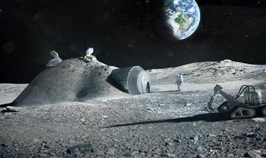3D print structures on the moon | Young Civil Engineering | Scoop.it