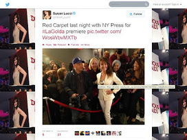 @FernandoSalasNY Blog: Susan Lucci with NY Press at La Golda red carpet premiere last night | Paparazzi News | Scoop.it