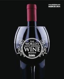 Marcas de Vinho Mais Admiradas do Mundo em 2014 - ranking Drinks International | Notícias escolhidas | Scoop.it