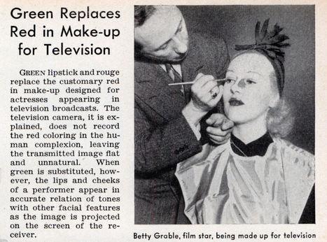 Maquillage des premières présentatrices à la télévision | La boite verte | Ca m'interpelle... | Scoop.it
