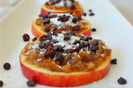 Raw Vegan Caramel Apple Cookies [Gluten-Free] | My Vegan recipes | Scoop.it