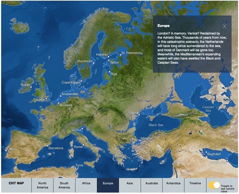 Animated map of what Earth would look like if all the ice melted #climate | Messenger for mother Earth | Scoop.it
