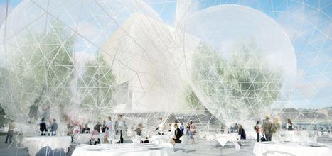 SANAA proposes TRANSPARENT spheres for nobel headquarters - designboom | architecture & design magazine | The Architecture of the City | Scoop.it