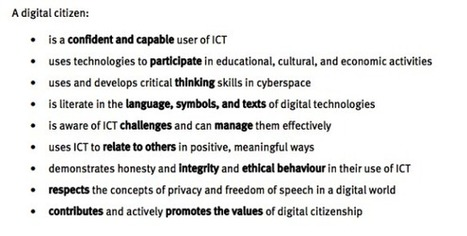 What is citizenship in the digital age? | Touched by An Angel | Digital Citizenship | Scoop.it