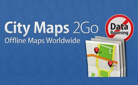 [Bon App'] City Maps 2Go, la cartographie des villes en mode hors connexion   Cartographie XY   Scoop.it