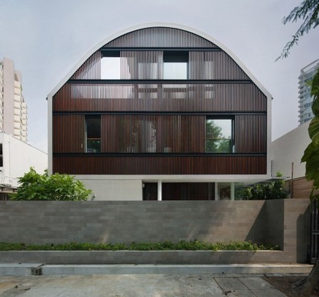[East Coast, Singapore] Wind Vault House / Wallflower Architecture + Design | The Architecture of the City | Scoop.it