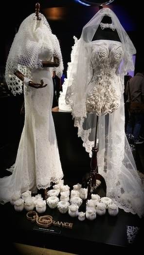 And the bride wore ... a 3D printed dress | Digital Design and Manufacturing | Scoop.it