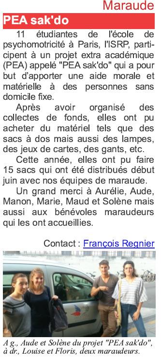 Un projet extra académique (PEA) mené par 11 étudiants à Paris | Initiatives originales | Scoop.it