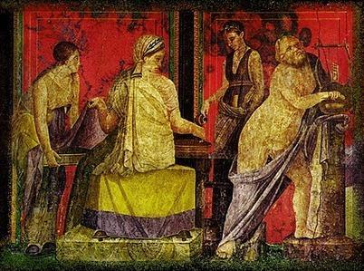 Villa of the Mysteries | Pompeii assignment | Scoop.it