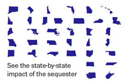 Sequestration impacts, state by state estimates from the White House - The Washington Post | Coffee Party Immigration | Scoop.it
