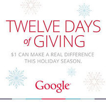Twelve Days of Giving | Christmas fundraising | Scoop.it