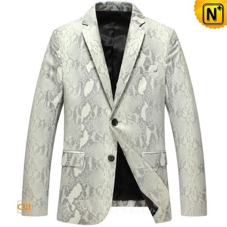 CWMALLS Mens Blazer Jackets CW816125 | Leather Blazer Jacket | Scoop.it