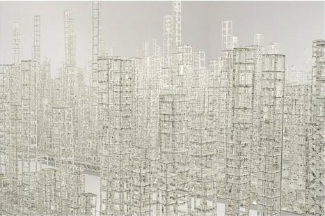 Paper Metropolis Delicately Explores Urban Density | The Creators Project | Paper Art | Scoop.it