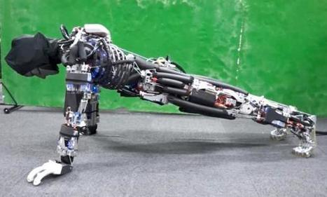 This Robot Can Do More Push-Ups Because It Sweats | #Innovation | Scoop.it