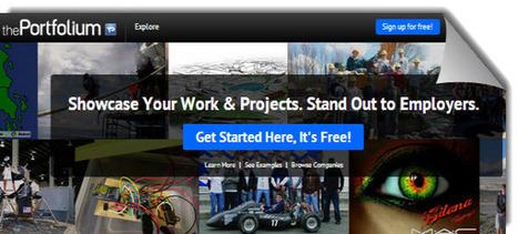 thePortfolium, interesante opción para que los estudiantes muestren sus proyectos y talento | Ideas Poderosas | Scoop.it