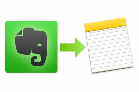 J'ai testé l'export Evernote dans Notes (application concurrente Macintosh) | Evernote, gestion de l'information numérique | Scoop.it