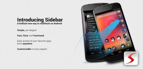 Sidebar Pro 4.4.0 apk For Android Free Download ~ Make Use Of Android | tutti | Scoop.it