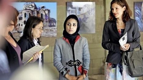 Shamsia affiche ses femmes afghane à l'Hôtel-de-Ville - Tribune de Genève | ¨¨Qui est le plus sauvage?¨¨ | Scoop.it
