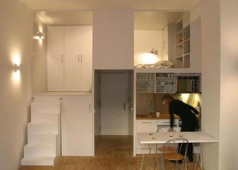 Apartment in Duque de Alba, Madrid by Beriot, Bernardini Arquitectos | laurent | Scoop.it