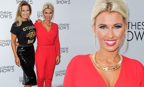 Double trouble: Sam and Billie Faiers rock the latest fashion trends at ... | Fashion anklets | Scoop.it