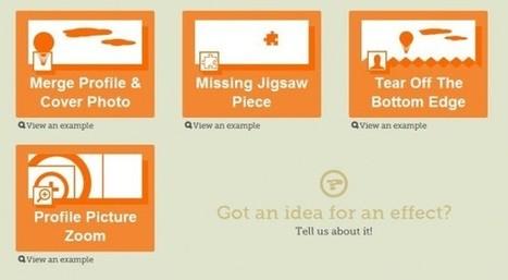 Crea portadas de Facebook con diversos efectos usando trickedouttimeline | Social Media Today | Scoop.it