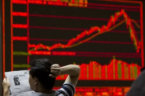 China stocks tumble 3% despite better GDP | EconMatters | Scoop.it