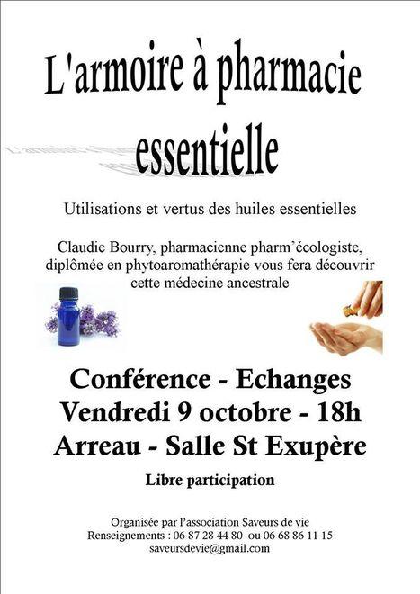 Conférence sur les huiles essentielles à Arreau le 9 octobre | Vallée d'Aure - Pyrénées | Scoop.it