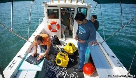 Underwater wi-fi given test run | BBC Tech News | ICT essays | Scoop.it